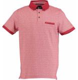 Chris Cayne Chc29s382.3117/3040 polo shirt met rood