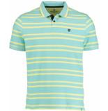 Basefield Shirt 1/2 219014262/602 blauw