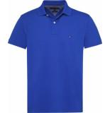 Tommy Hilfiger Tommy regular polo mw0mw09733/436 - blauw