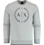 Armani Exchange Trui met logo 8nzm87.z9n1z/3929 armani grijs