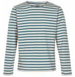 Anerkjendt Gestreepte sweater 9219702/3035 trui blauw