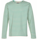 Anerkjendt Gestreepte sweater 9219702/4028 trui groen