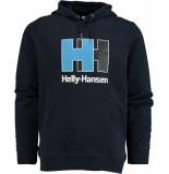 Helly Hansen Hoodie trui 100% katoen - blauw