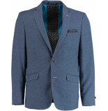 Born with Appetite Appetite granite jacket drop 8 183038gr97/240 blue blauw