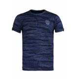 Gabbiano T shirt 15125 navy blauw
