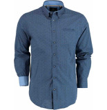 Chris Cayne Casual overhemd lange mouw chc28f119.1128/8131 zwart