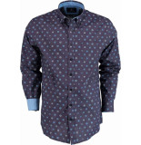 Chris Cayne Overhemd lange mouw chc28f121.1176/7041 - paars