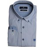 Basefield Lange mouw overhemd 219013427/603 licht blauw