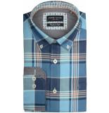 Chris Cayne Overhemd lange mouw chc28f120.1137/5131 - turquoise