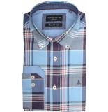 Chris Cayne Overhemd lange mouw chc28f120.1137/3190 - paars