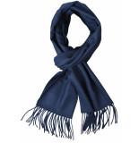 Commander shawls 100% acryl - blauw