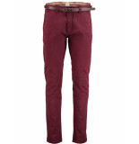 Dstrezzed Belt stretch twill 501146/22 bordeaux