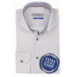 Ledûb Tf 7 01364/640180 overhemd met bruin