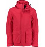 Tenson B5012914os/380 winterjas 100% polyamide rood
