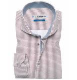 Ledûb Tf 5 0136369/480170 overhemd met bordeaux