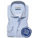 Ledûb Tf 7 0136403/140260 overhemd met blauw