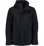 Tenson B5012914os/999 winterjas 100% polyimide zwart