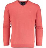 Basefield V- pullover 219012598/402 trui rood
