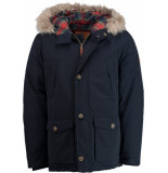 District Mf7530183.777/5 winterjas 83% polyester blauw