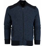 Hugo Boss Skiles vest 50403417/402 gebreid blauw