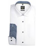 Olymp Hemden 255234/00 overhemd met lange wit