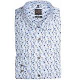 Olymp Hemden 201834/28 overhemd met lange licht blauw