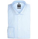 Olymp Hemden 124034/11 overhemd met lange licht blauw