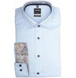 Olymp Hemden 130634/11 overhemd met lange licht blauw