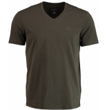 Armani Exchange Groen slim fit t-shirt 8nzt85.z8m9z/1840 armani