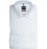 Olymp Hemden 126634/11 overhemd met lange licht blauw