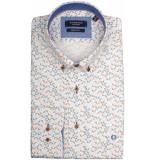 Giordano Lange mouw overhemd 917013/51 overhemd roze