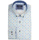 Giordano Lange mouw overhemd 917017/61 overhemd licht blauw