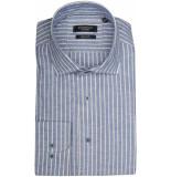 Giordano Lange mouw overhemd 917006/60 overhemd licht blauw