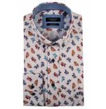 Giordano Lange mouw overhemd 917024/10 overhemd wit