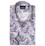 Giordano Lange mouw overhemd 917823/91 overhemd grijs
