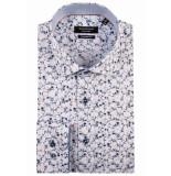 Giordano Lange mouw overhemd 917881/12 overhemd wit