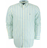 Gant Colour stripe shirt 3058000/355 groen