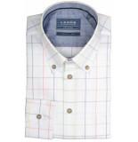 Ledûb Lange mouw 0137867/910170 overhemd met wit