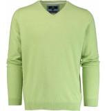 Basefield V-hals pullover 219013879/501 trui groen