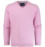 Basefield V-hals pullover 219013879/606 trui roze
