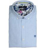 Basefield Mouw overhemd 219013859/610 licht blauw