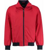 Tenson 5014708/380 zomerjas 50% katoen rood