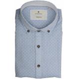 Basefield Mouw overhemd 219013913/610 licht blauw