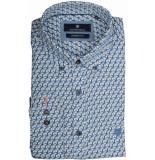 Basefield Mouw overhemd 219014093/611 blauw
