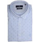 Basefield Mouw overhemd 219013960/610 licht blauw