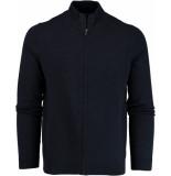 Basefield Gebreid vest 219013881/613 blauw