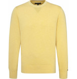 Tommy Hilfiger Pasel garment dyed sweater mw0mw09797/712 tommy geel
