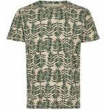 Anerkjendt T-shirt bladeren 9219325/4023 beige