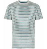 Anerkjendt T-shirt gestreept 9219330/3035 grijs
