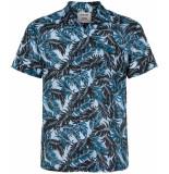 Anerkjendt Korte mouw overhemd 9219046/3025 licht blauw